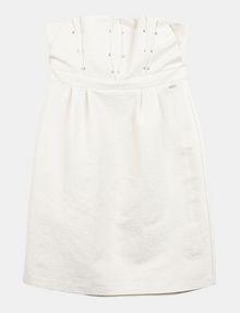 ARMANI EXCHANGE STRAPLESS STUD-DETAIL DRESS Mini dress Woman b