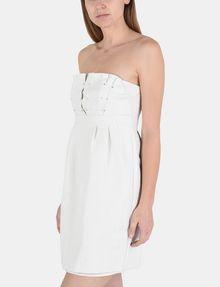 ARMANI EXCHANGE STRAPLESS STUD-DETAIL DRESS Mini dress Woman d