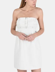 ARMANI EXCHANGE STRAPLESS STUD-DETAIL DRESS Mini dress Woman f