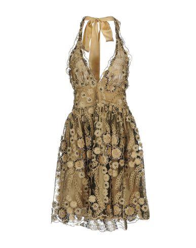 Купить Женское короткое платье NORA BARTH бежевого цвета