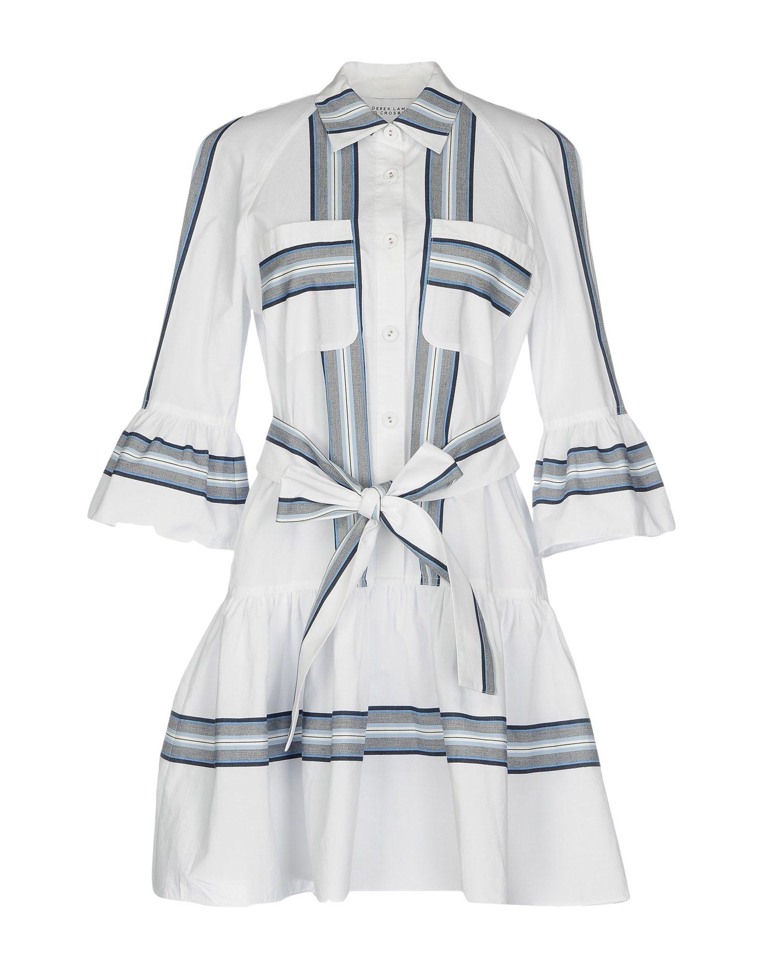 DEREK LAM 10 CROSBY Короткое платье derek