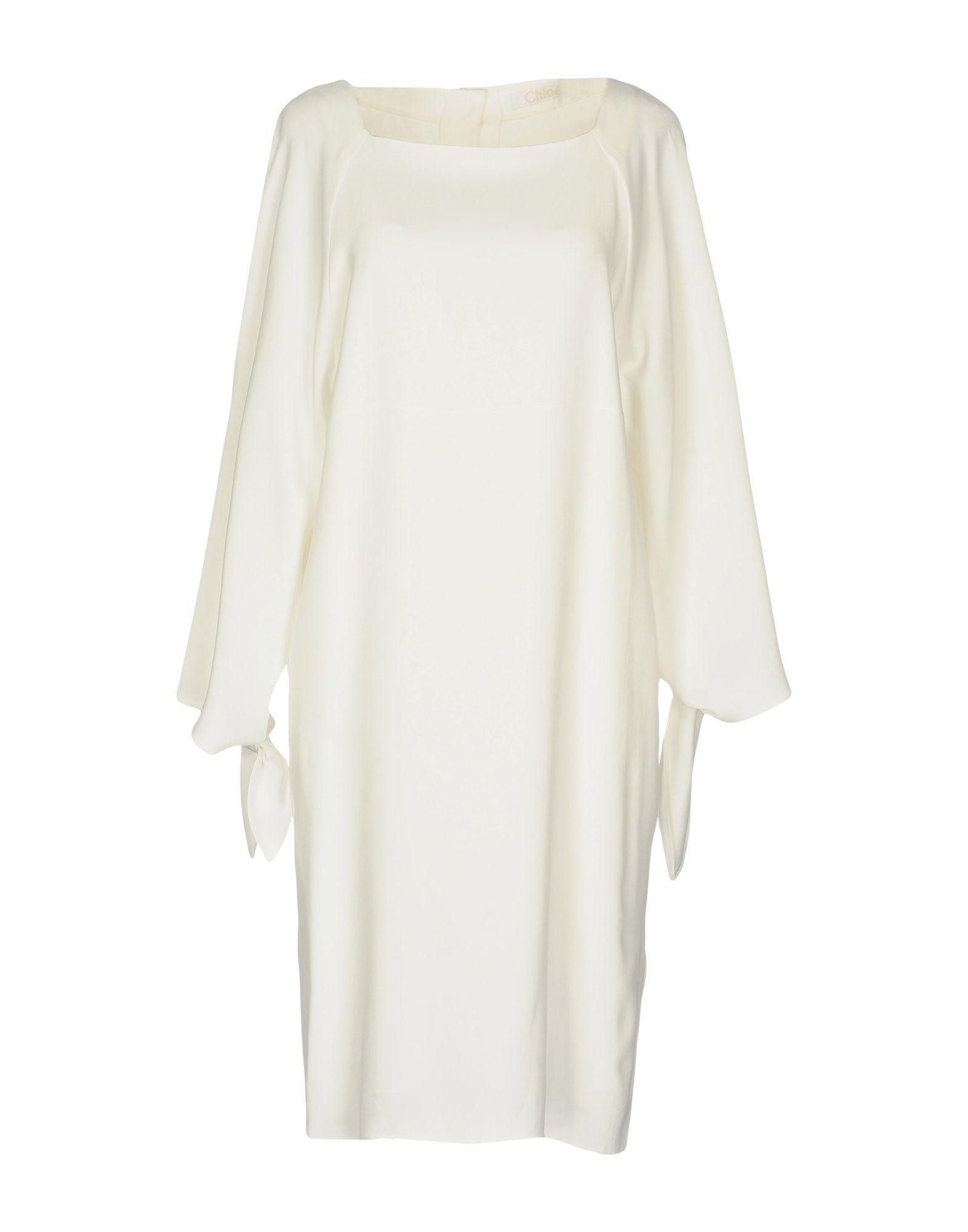 CHLOÉ Короткое платье платье с зернистым рисунком chloé