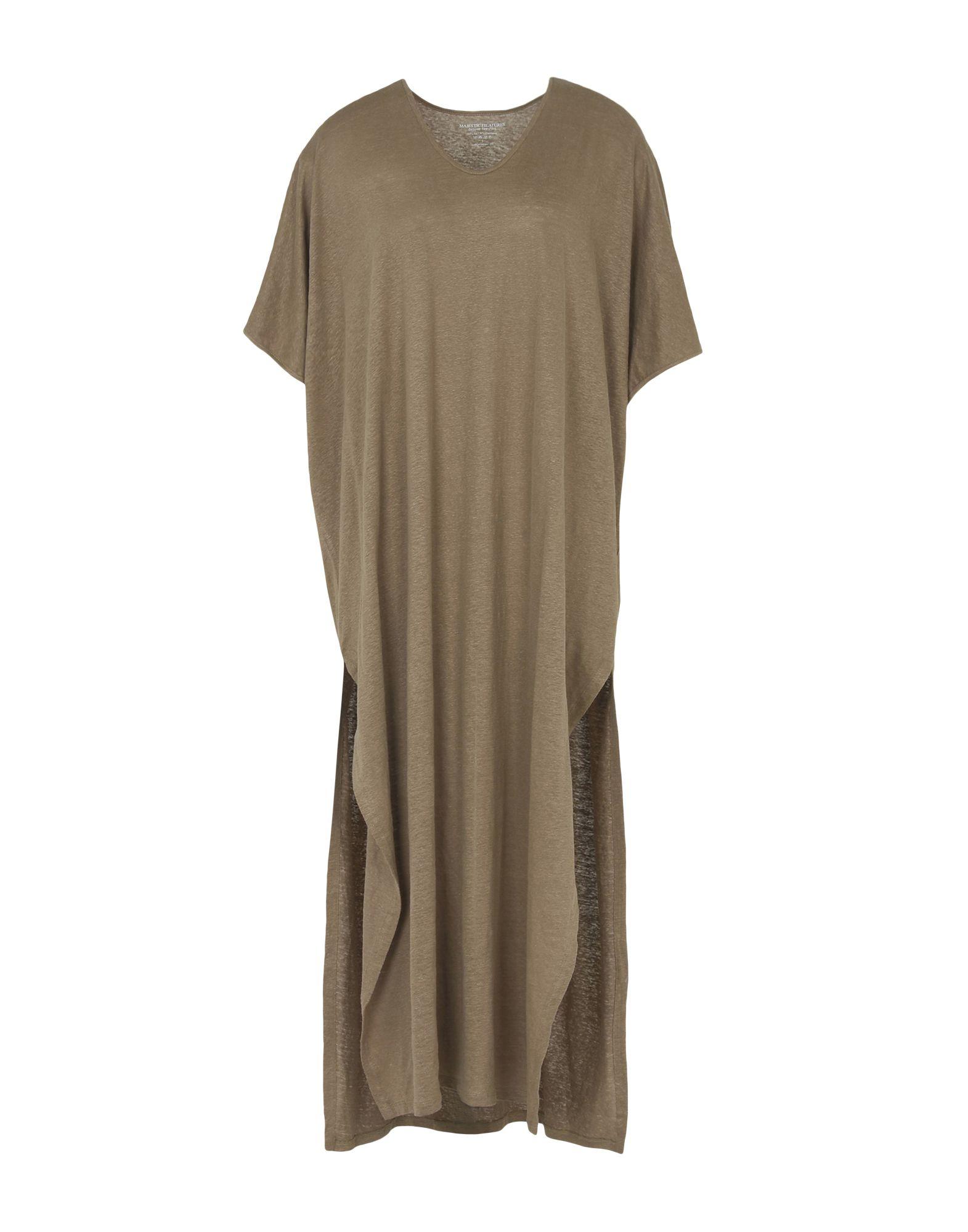 MAJESTIC Платье длиной 3/4 lisa corti платье длиной 3 4