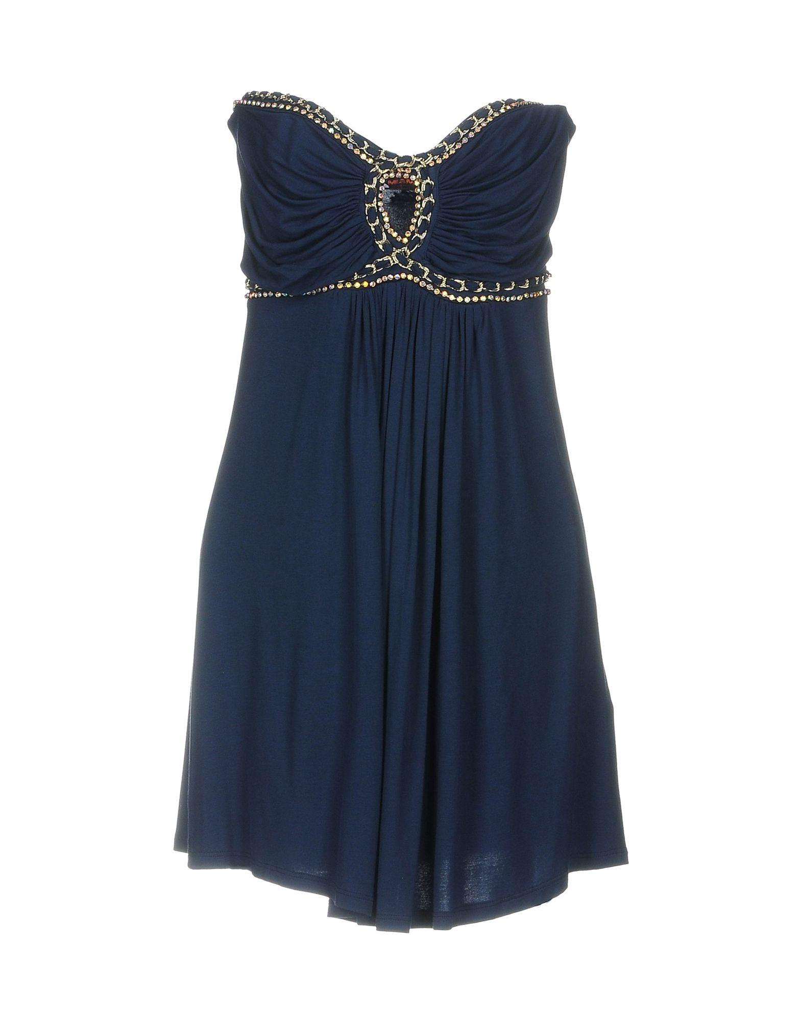 MET MIAMI COCKTAIL Damen Kurzes Kleid Farbe Königsblau Größe 6