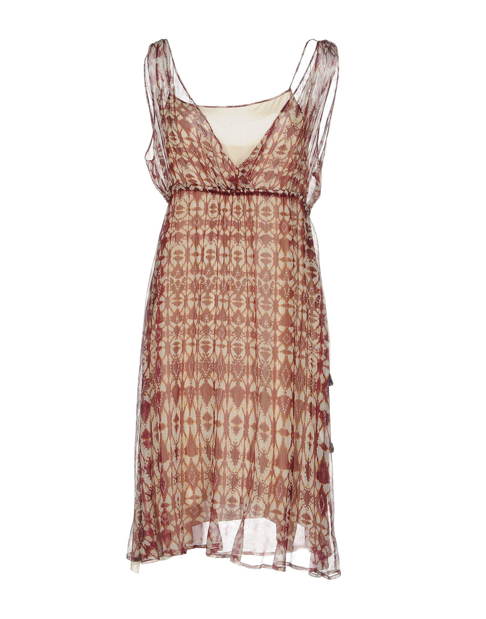 POMANDÈRE Платье до колена lovaru ™летом стиль 2015 шифон рукавов шить цветной печати мини платье моды случайные платье