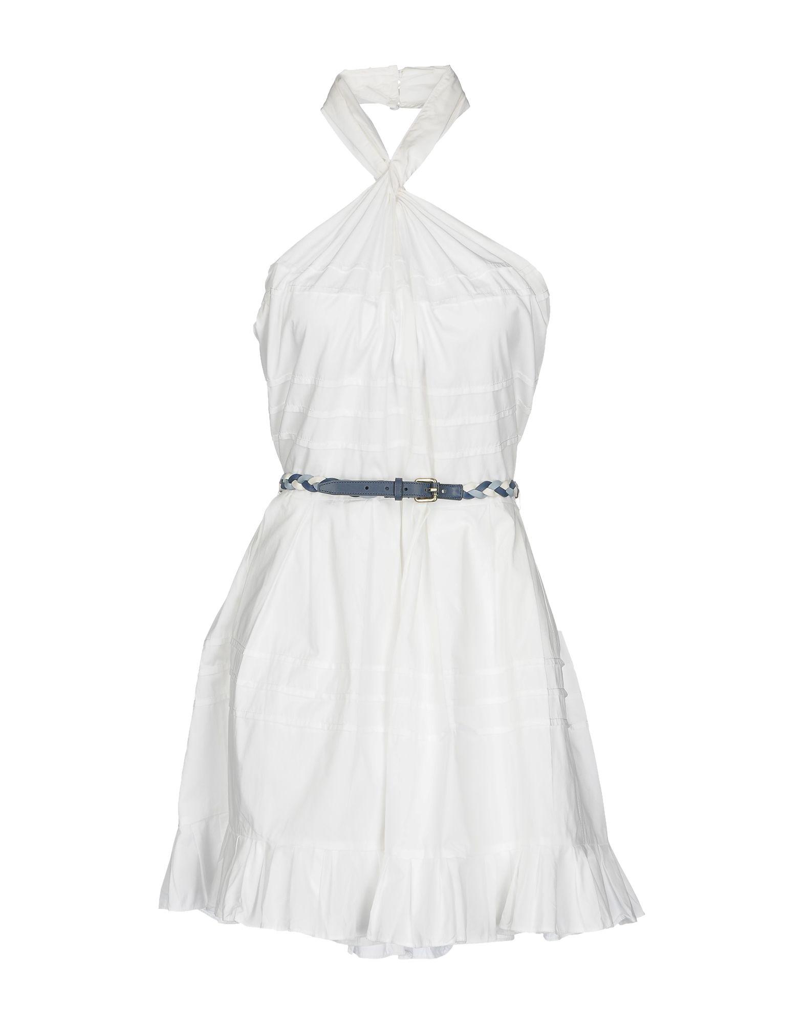 DIOR Короткое платье dior homme шарф