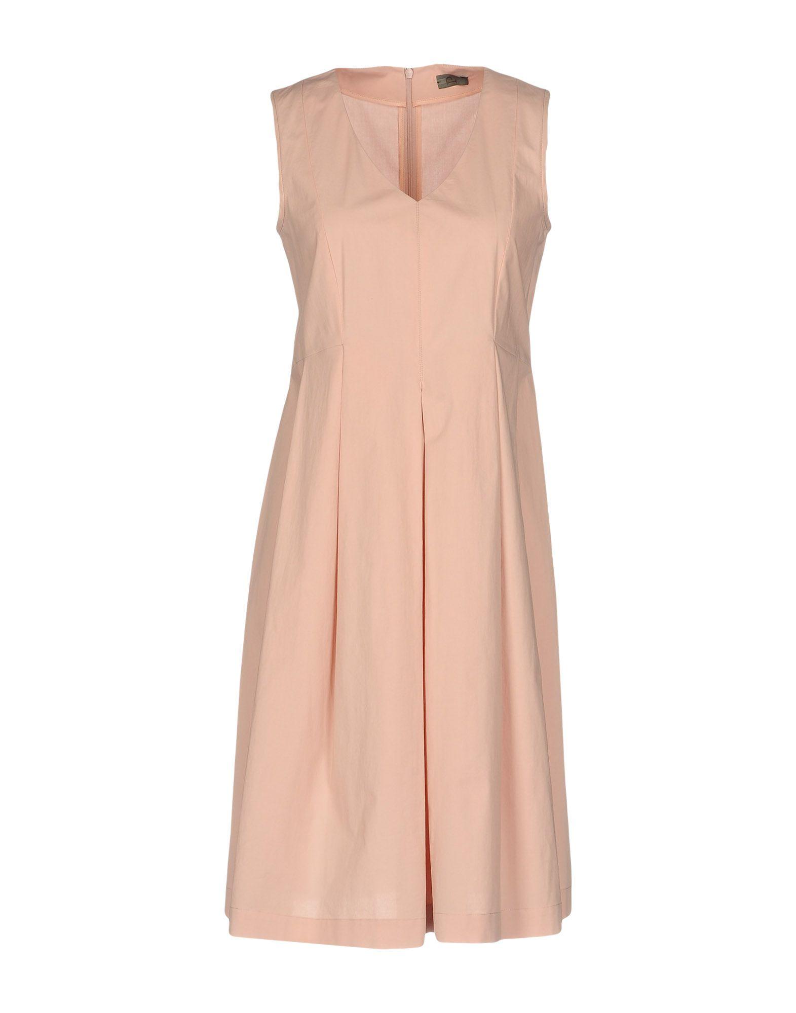 P ONE Платье до колена декор cir via emilia rivalta losanga lato 20 grigio 14x34