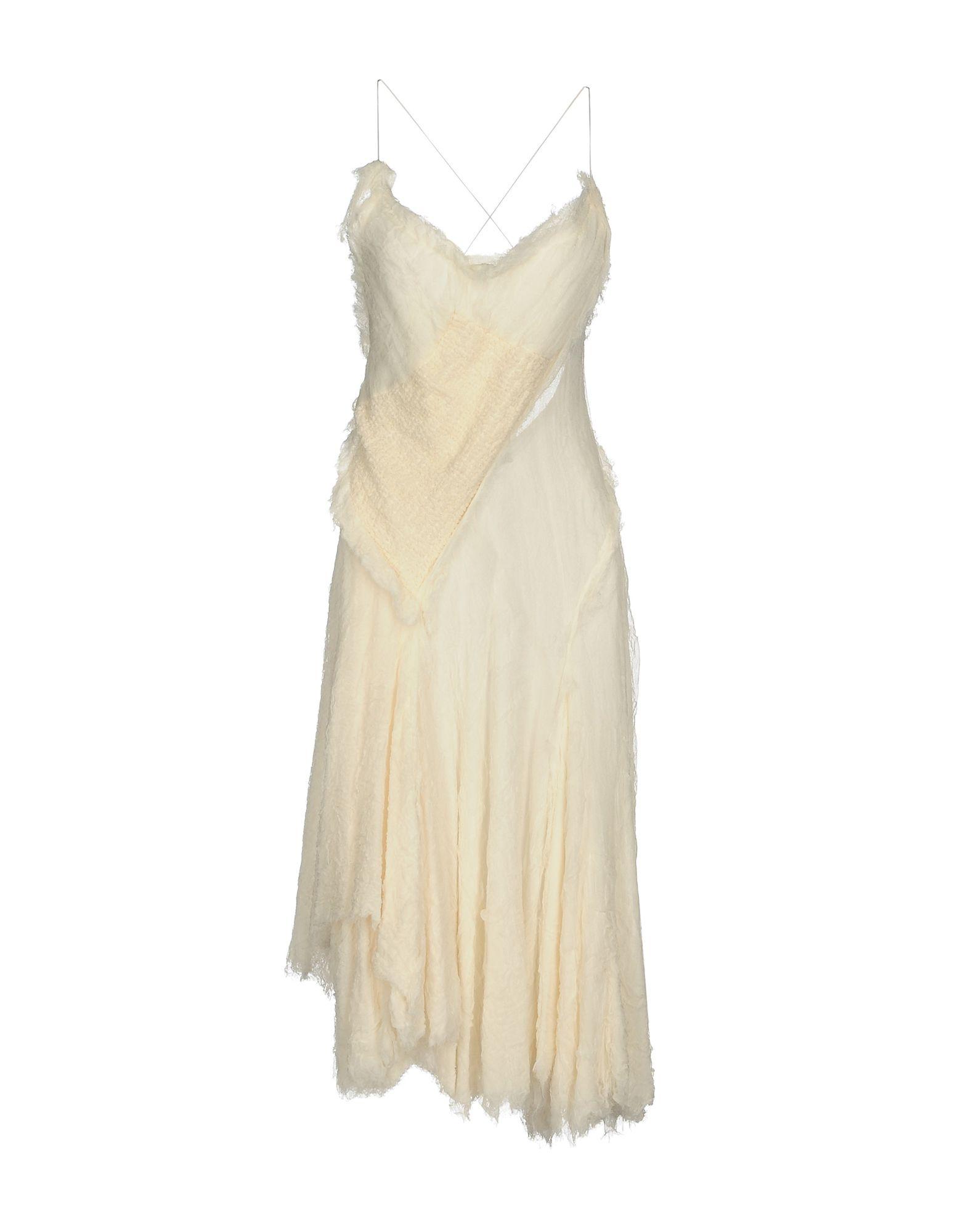DONNA KARAN Платье длиной 3/4 donna karan топ без рукавов