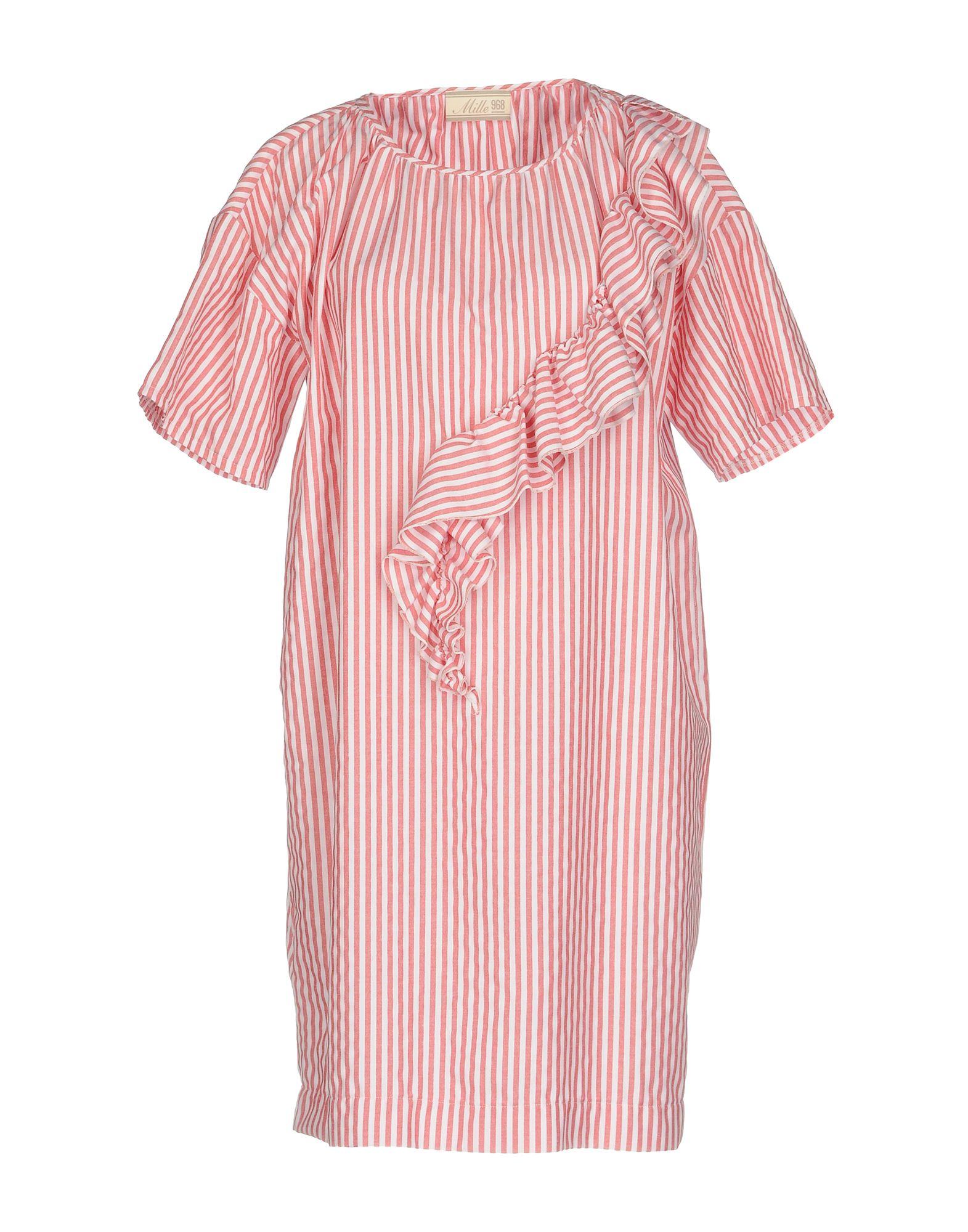 MILLE 968 Короткое платье фреза cmt 968 127 11