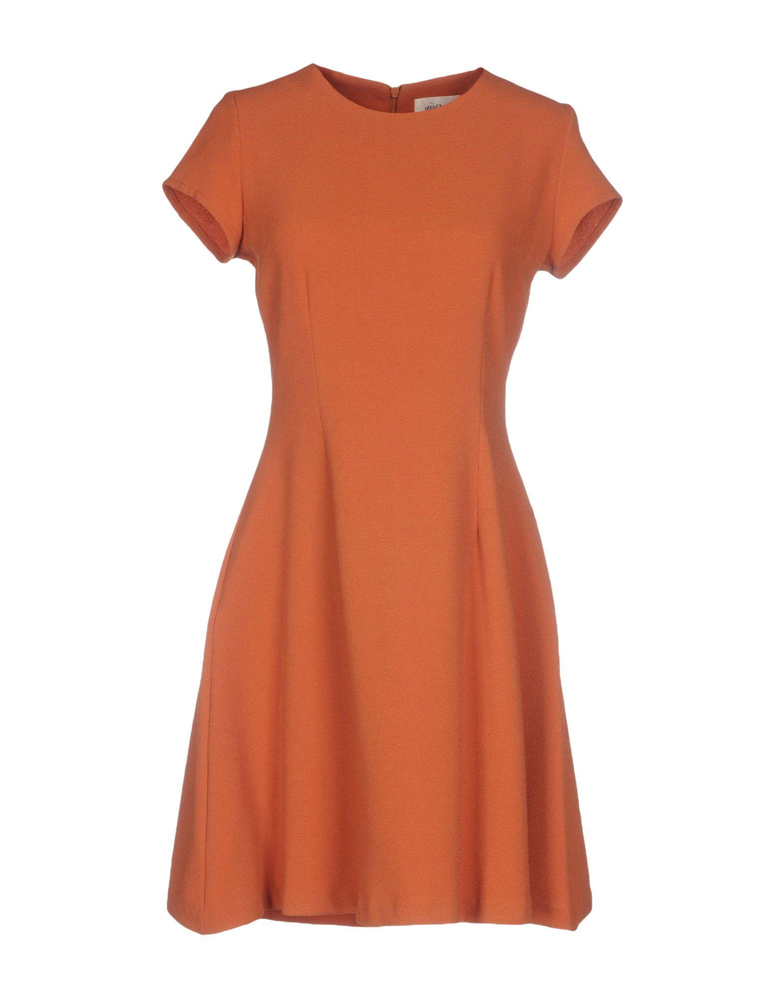 OTTOD'AME Короткое платье цена 2017