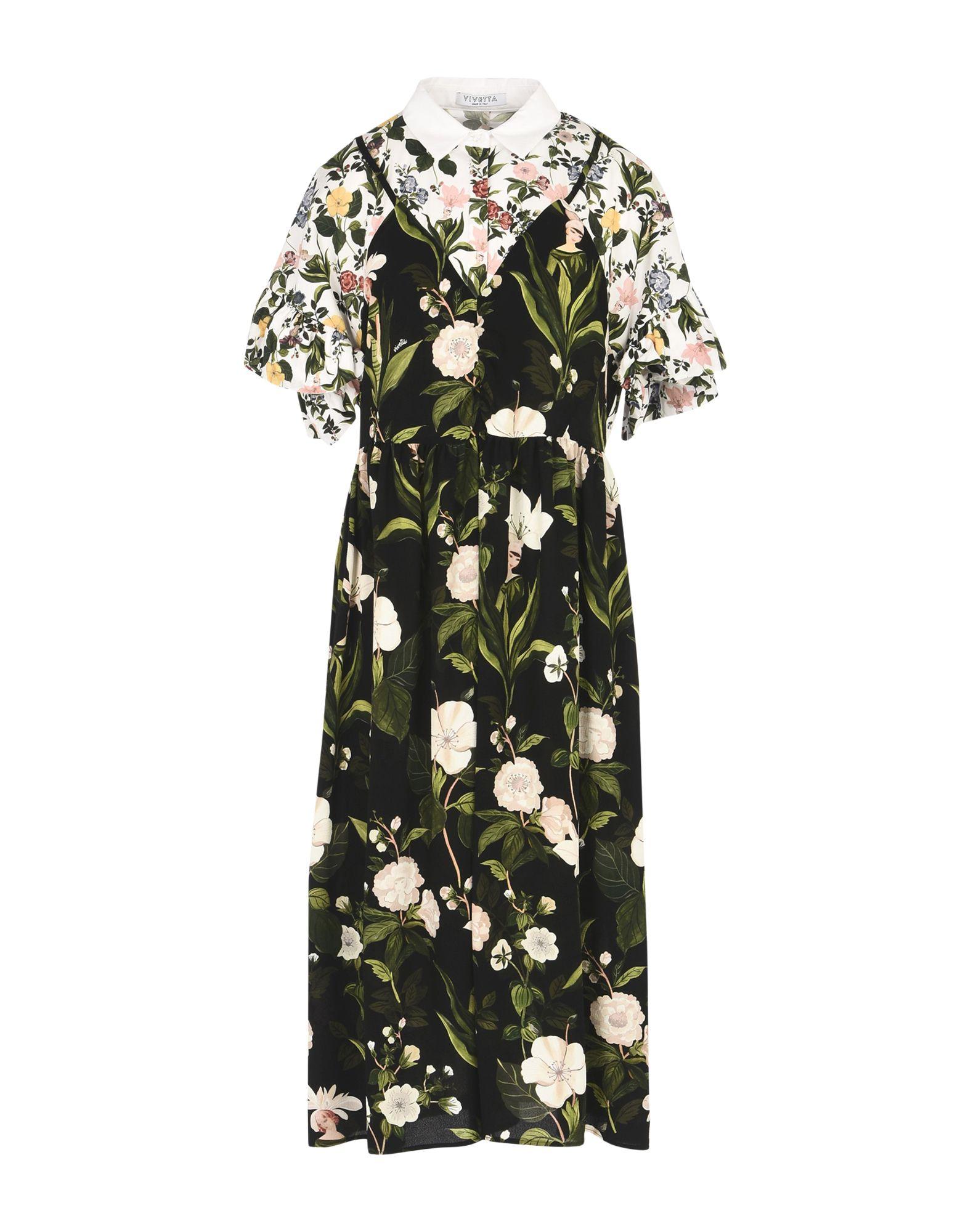 VIVETTA Платье длиной 3/4 lisa corti платье длиной 3 4