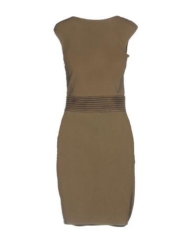Фото 2 - Женское короткое платье ANTONINO VALENTI цвет зеленый-милитари