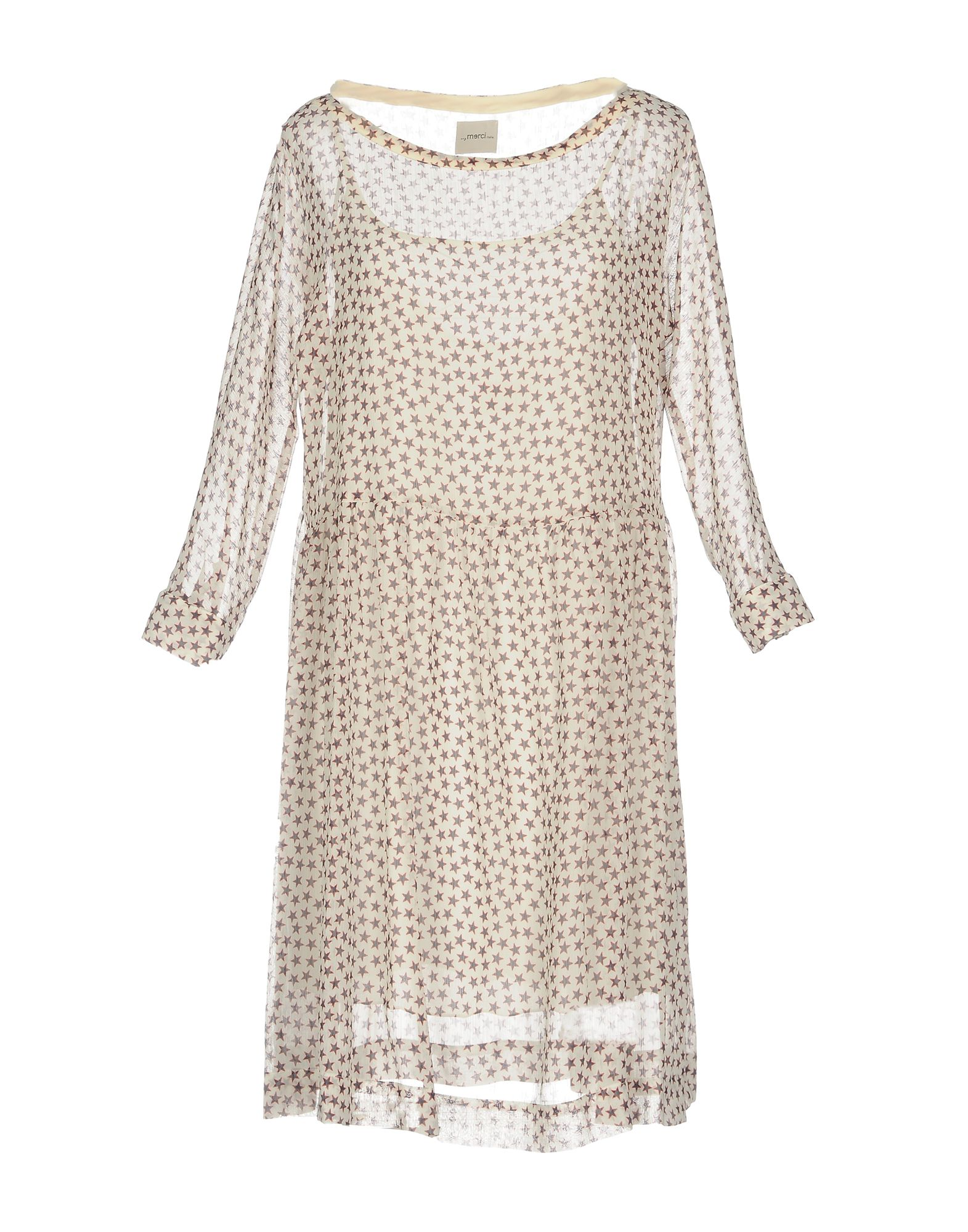 ..,MERCI Платье до колена цена 2017
