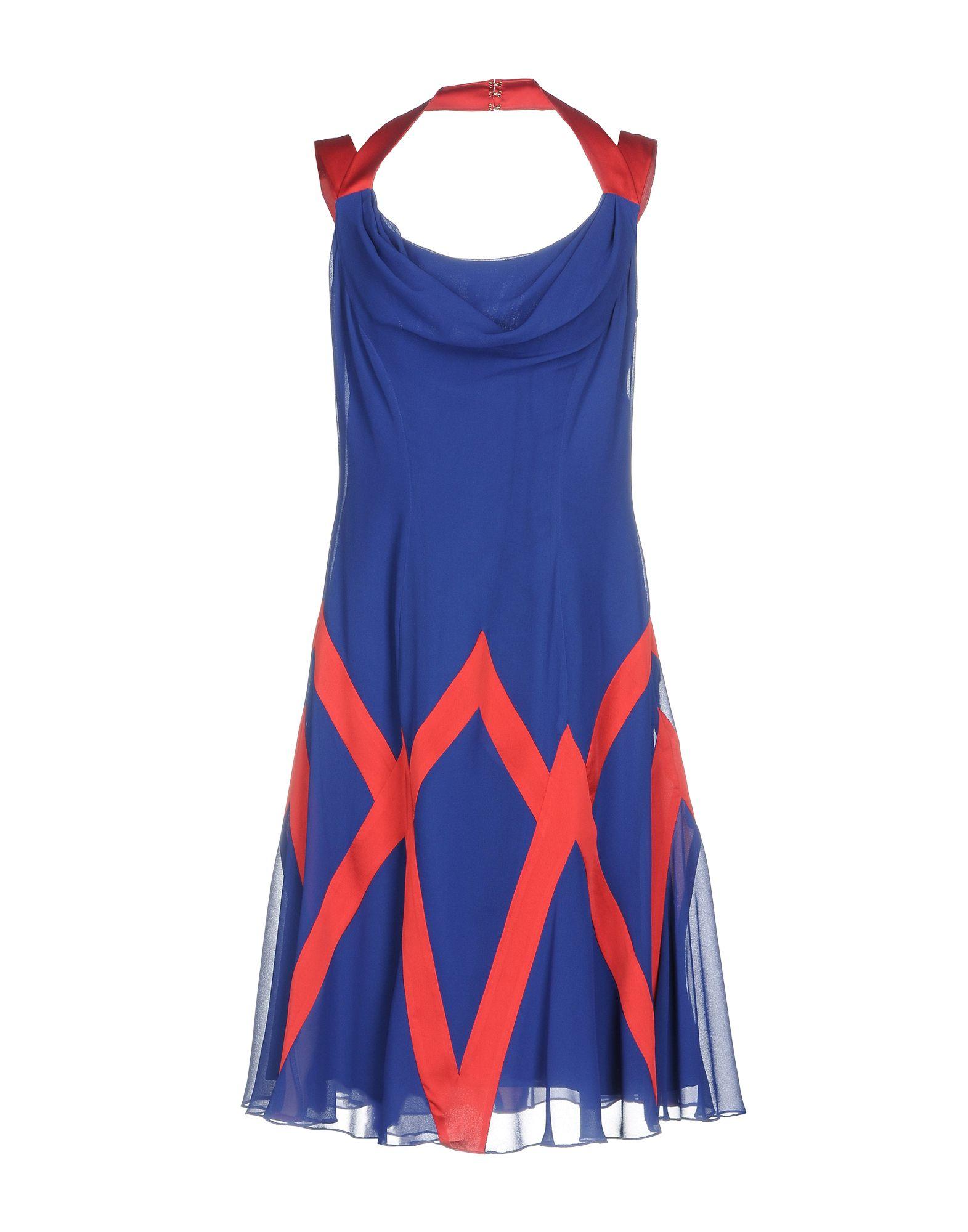 PASTORE COUTURE Платье до колена moschino couture сандалии