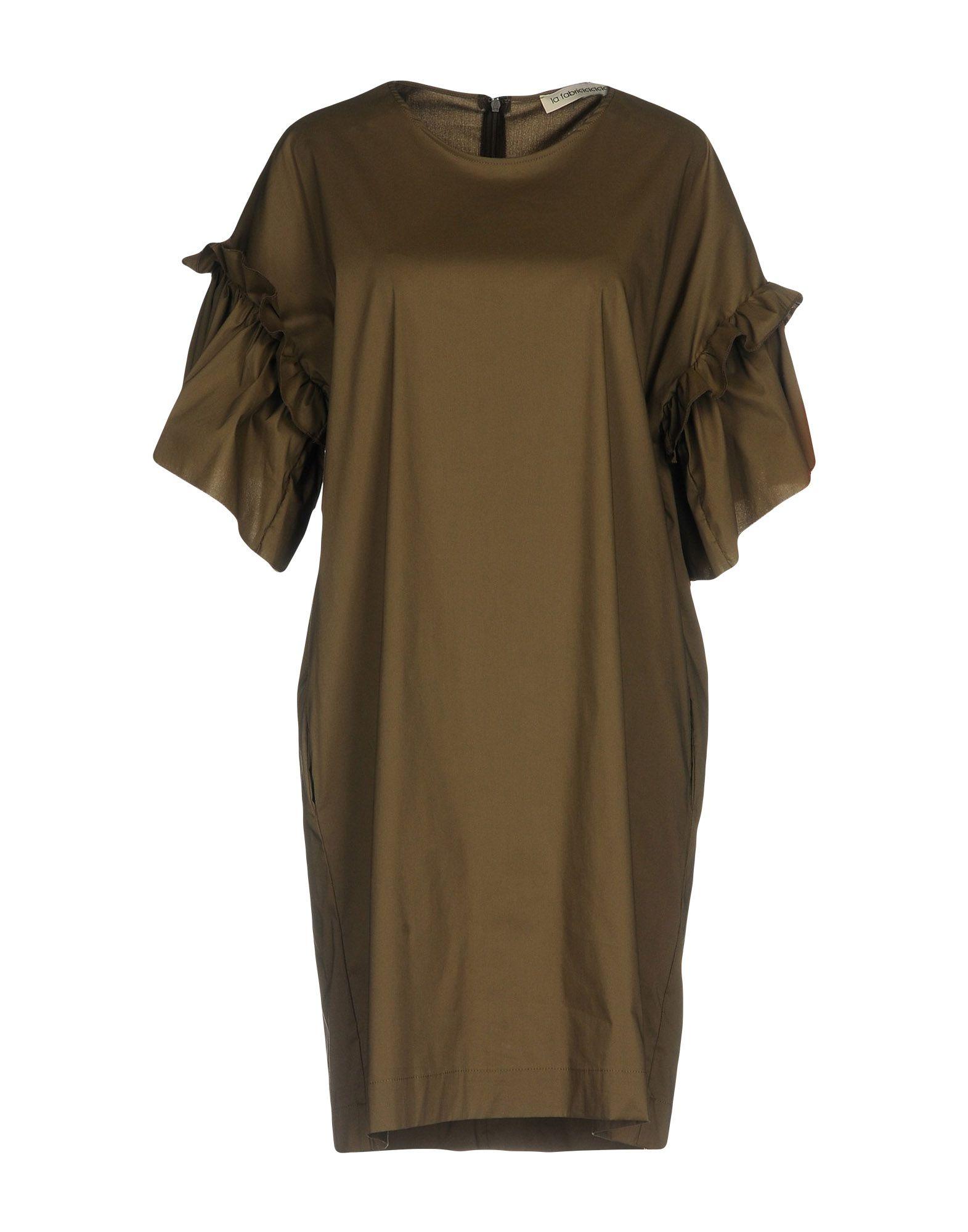 цена LA FABRIQUE Короткое платье онлайн в 2017 году