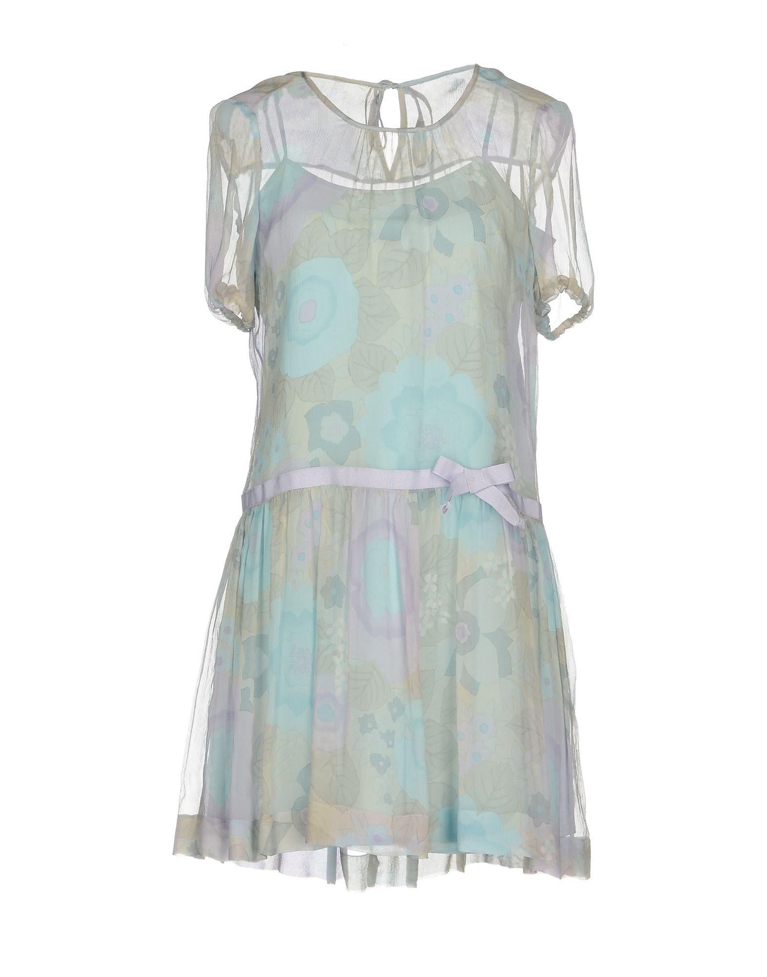 REDValentino Damen Kurzes Kleid Farbe Lila Größe 5