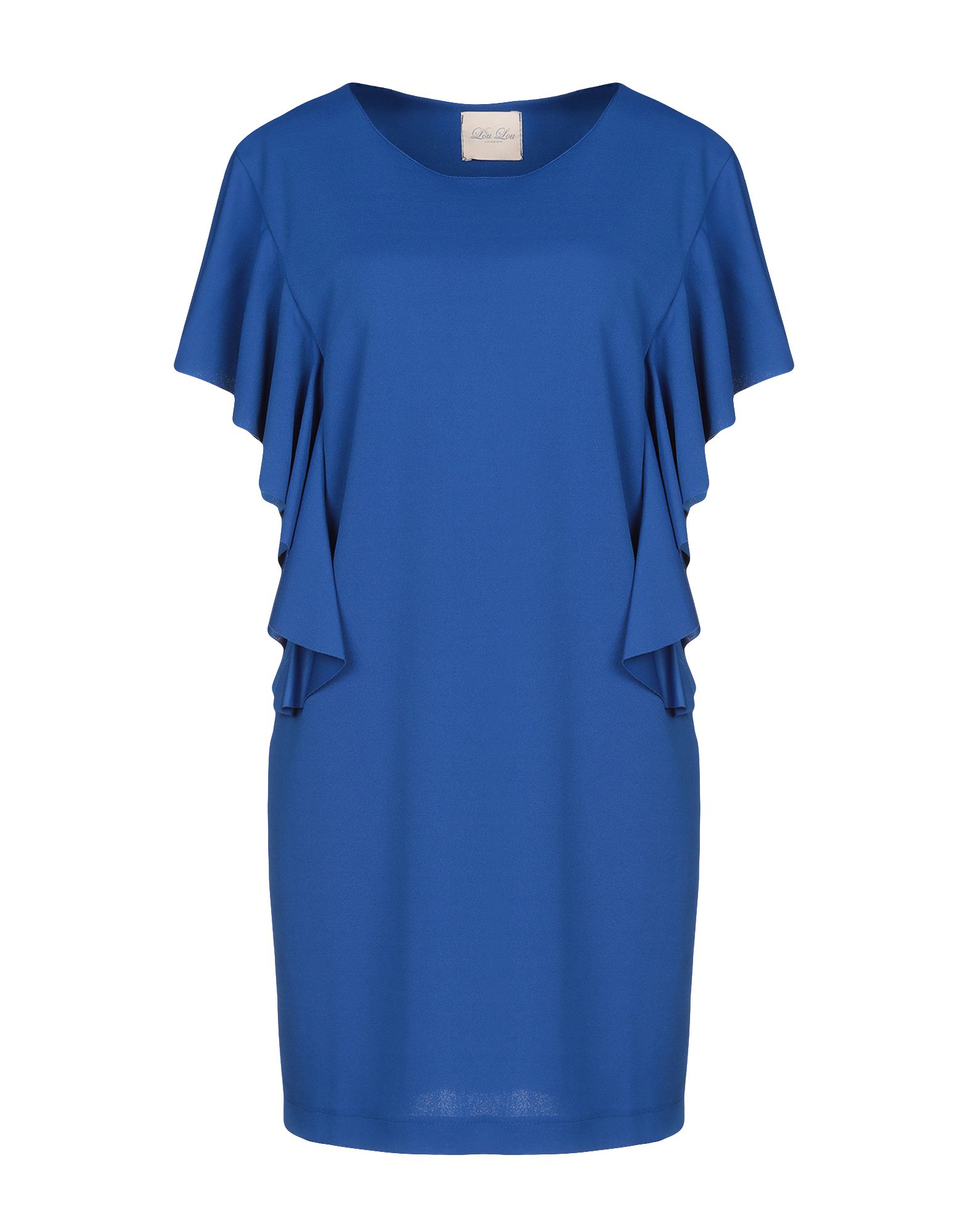 LOU LOU LONDON Короткое платье everflo lou lou meloni blue синий