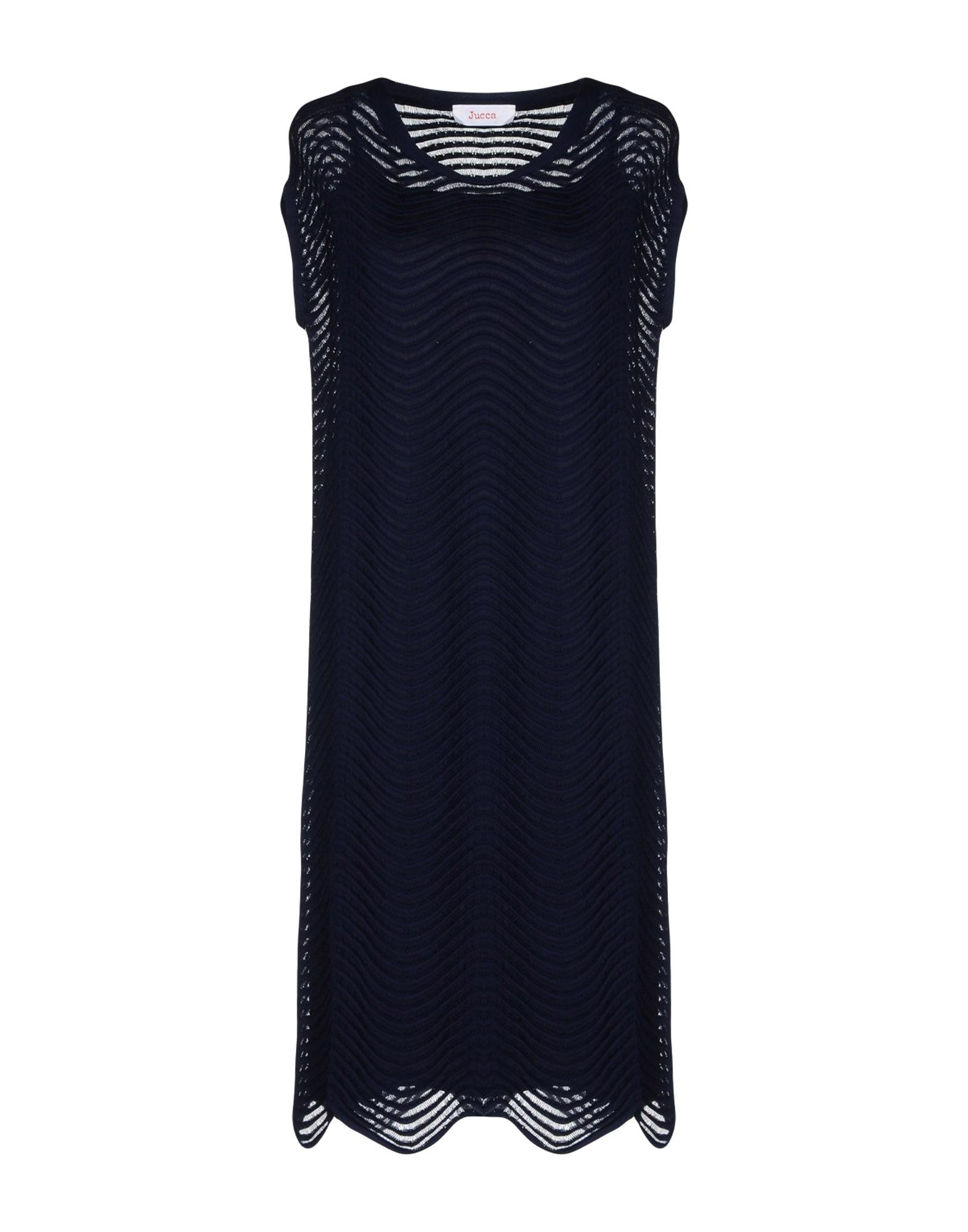 JUCCA Платье до колена paolo casalini платье до колена