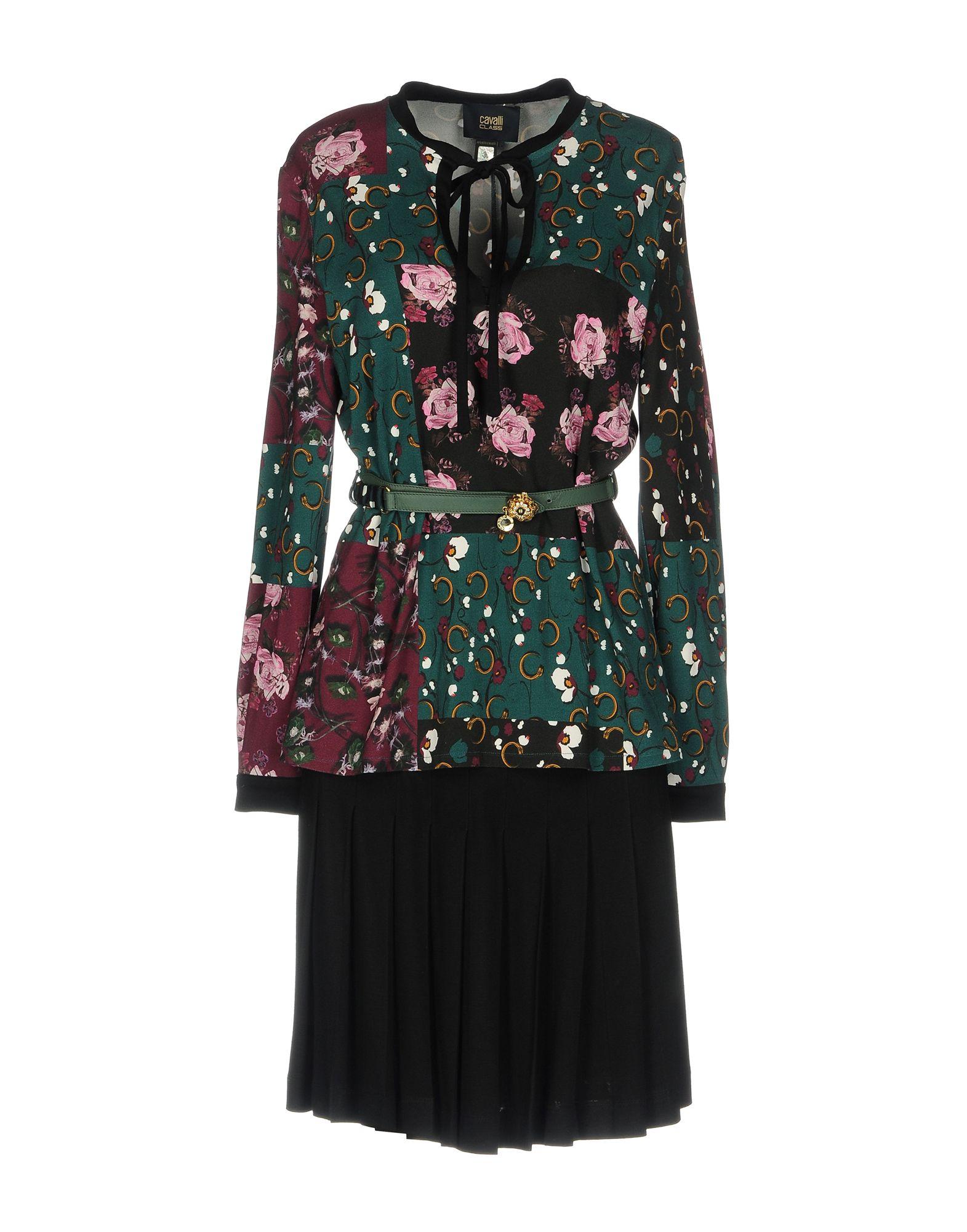 где купить CLASS ROBERTO CAVALLI Платье до колена по лучшей цене
