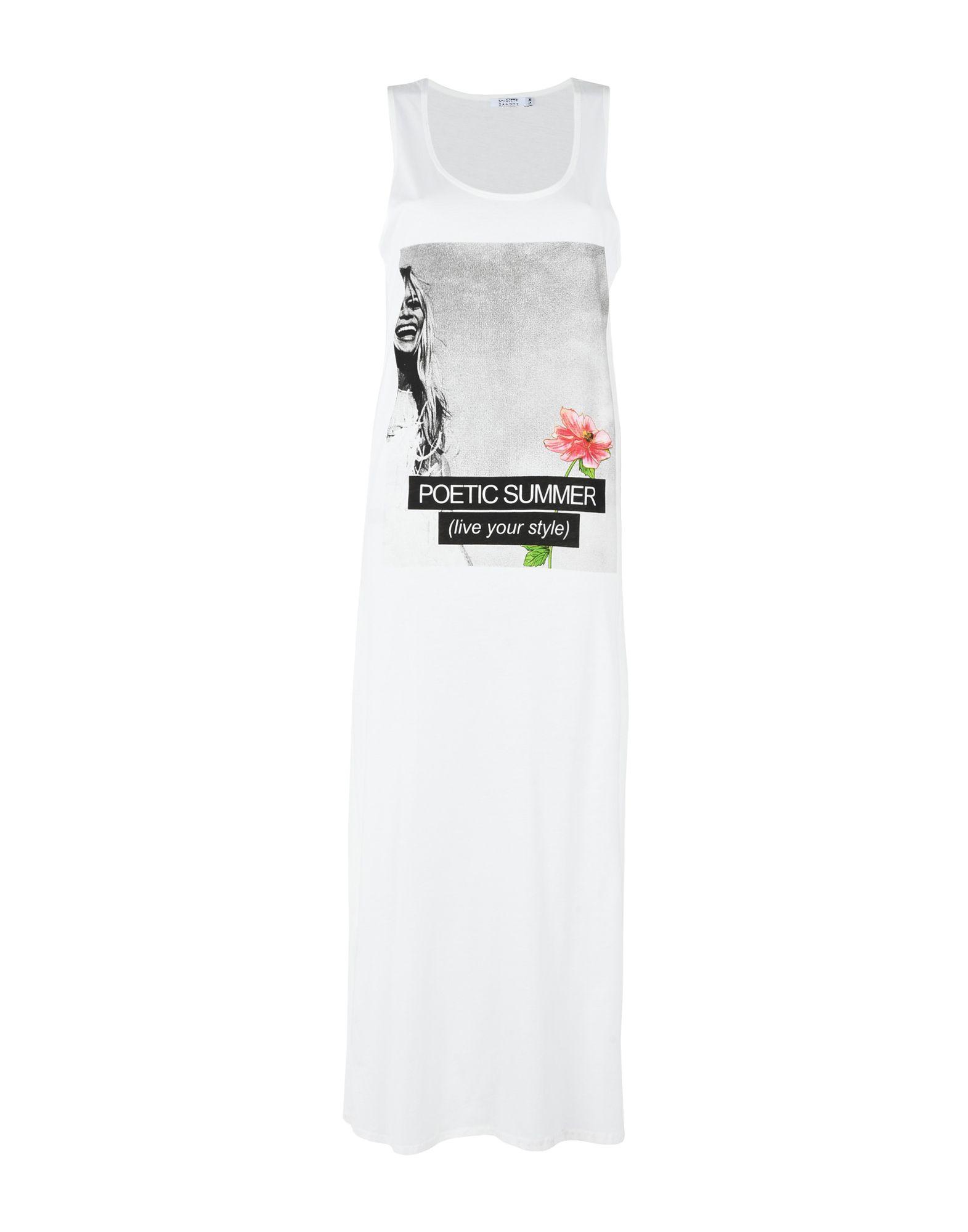 BRIGITTE BARDOT Платье длиной 3/4 lisa corti платье длиной 3 4
