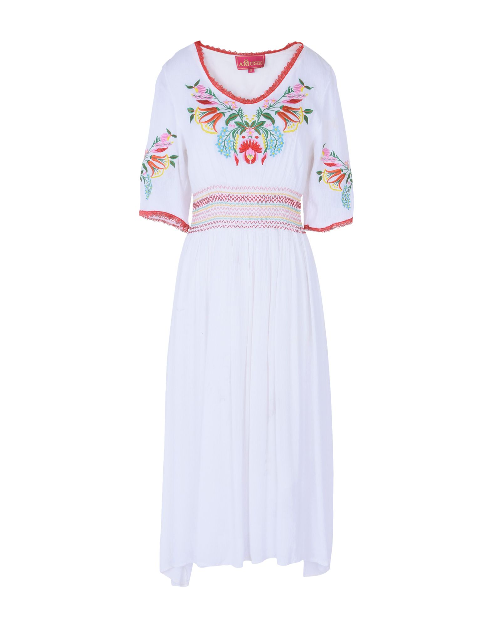 AMUSE Платье длиной 3/4 lisa corti платье длиной 3 4