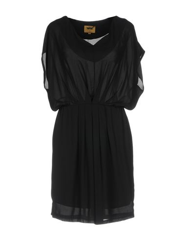 Фото - Женское короткое платье ORION LONDON черного цвета