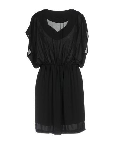 Фото 2 - Женское короткое платье ORION LONDON черного цвета