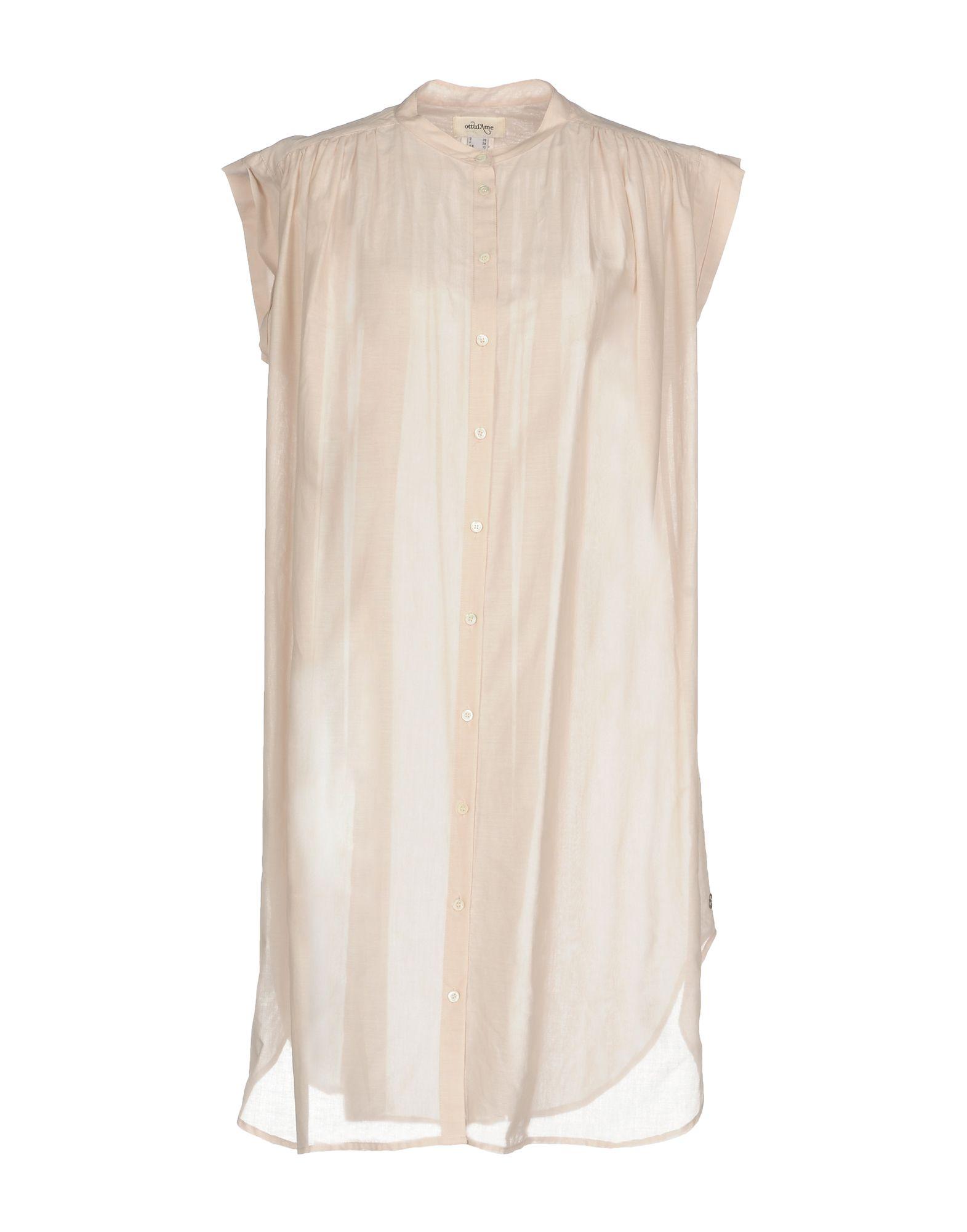 OTTOD'AME Короткое платье lisa corti короткое платье
