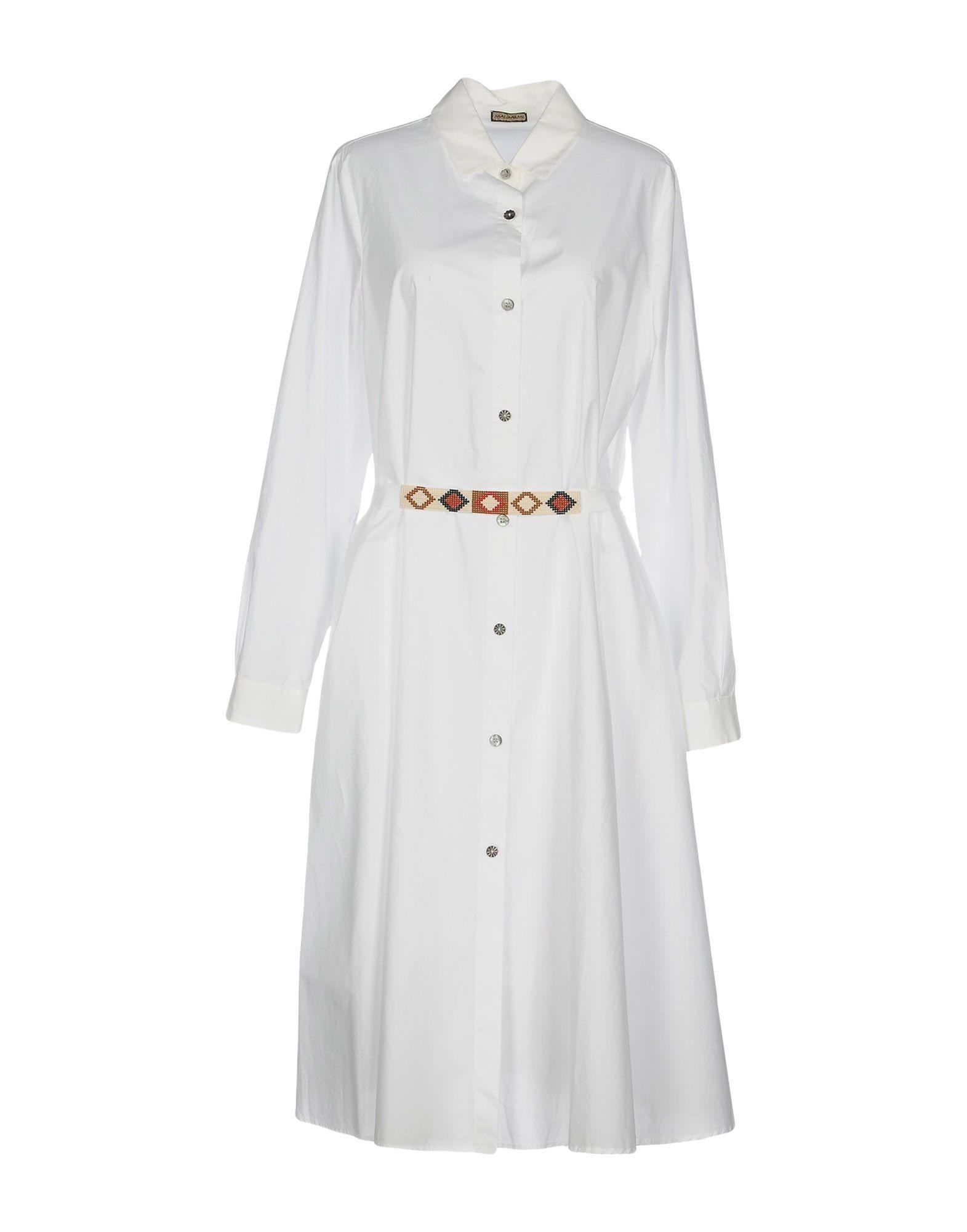 MALÌPARMI Платье длиной 3/4 lisa corti платье длиной 3 4