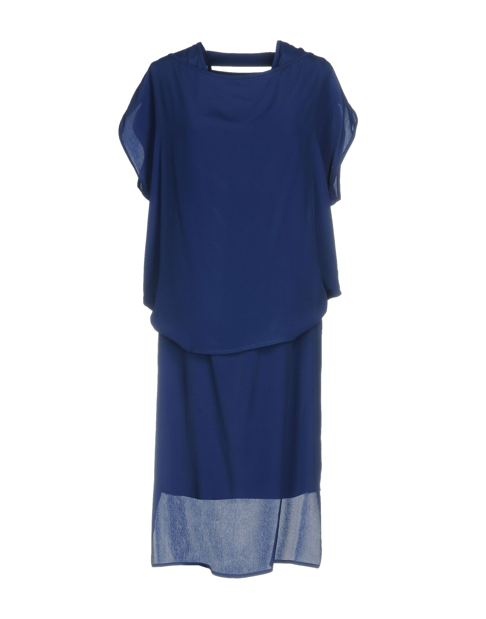 цена MALLONI Платье до колена онлайн в 2017 году