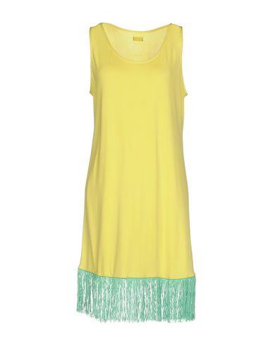 Фото - Женское короткое платье F**K PROJECT желтого цвета