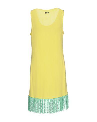 Фото 2 - Женское короткое платье F**K PROJECT желтого цвета