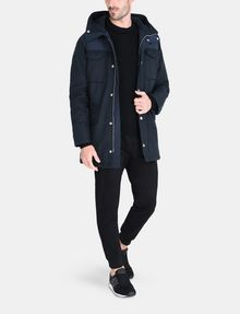 ARMANI EXCHANGE PIECED FUNNELNECK COAT Jacket Man a