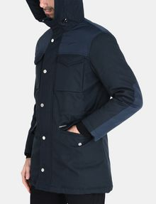 ARMANI EXCHANGE PIECED FUNNELNECK COAT Jacket Man r