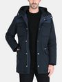 ARMANI EXCHANGE PIECED FUNNELNECK COAT Jacket Man f