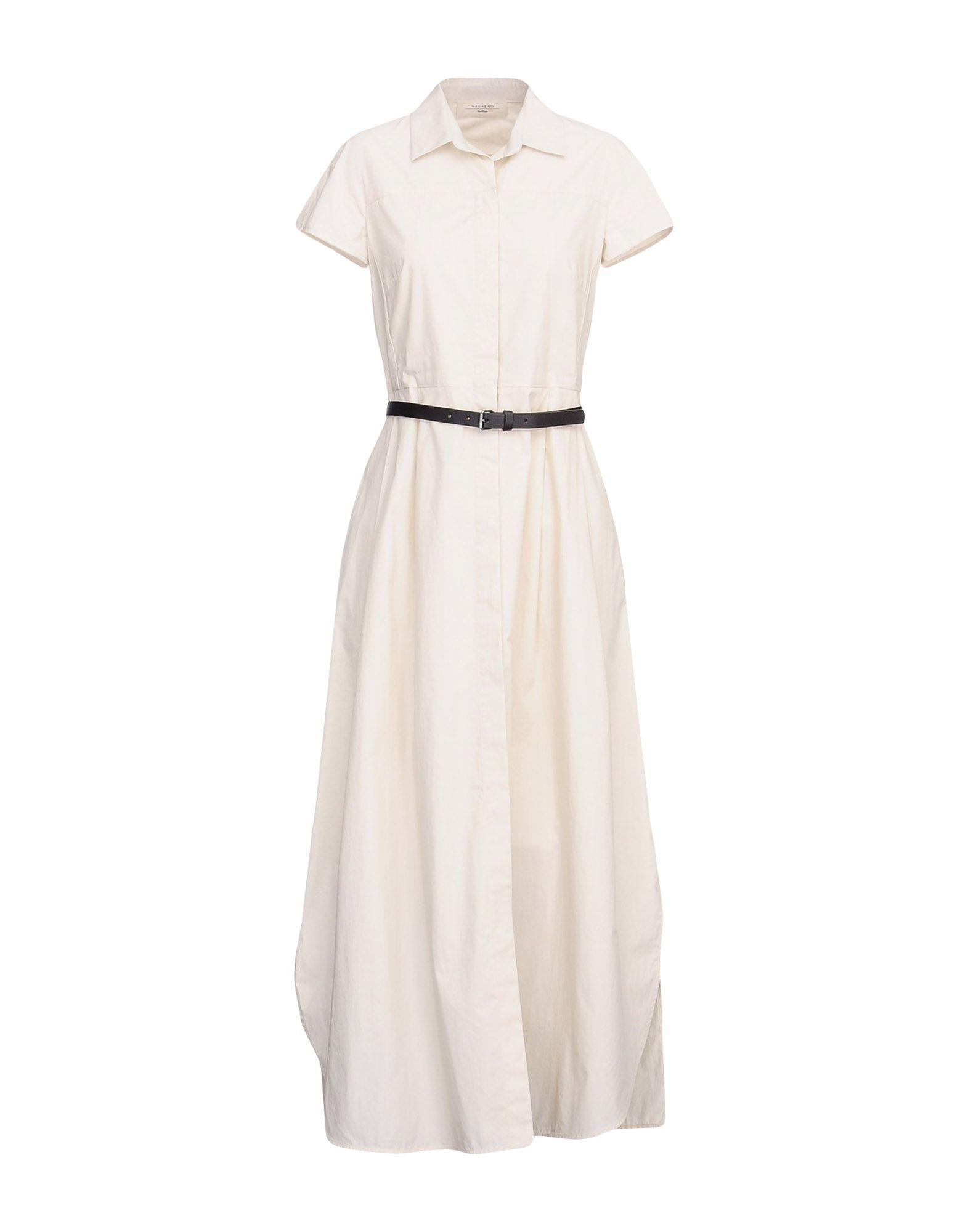 WEEKEND MAX MARA Длинное платье рубашка weekend max mara weekend max mara we017eworc33