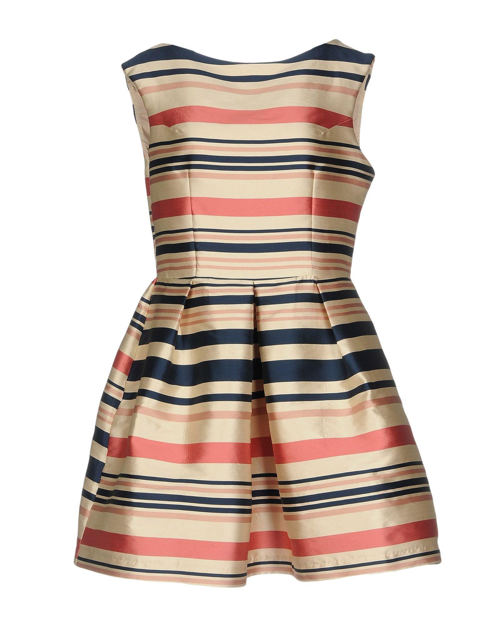 VERYSIMPLE Короткое платье короткое платье в полоску lumina page 11