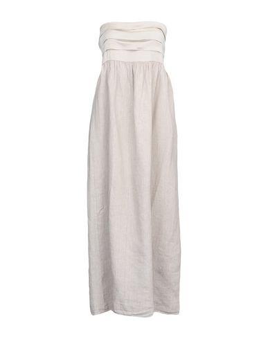 Купить Платье длиной 3/4 от ZHELDA серого цвета