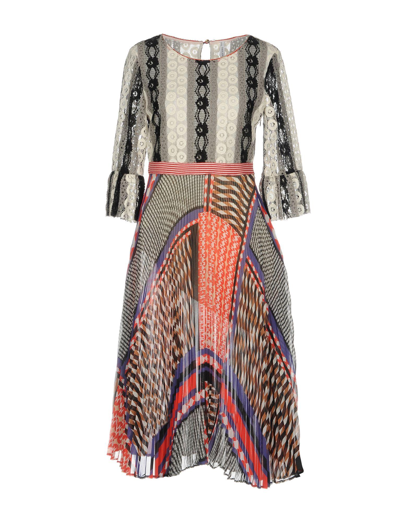 PIANURASTUDIO Платье длиной 3/4 dc shoes ремень dc shoes chinook washed indigo fw17 one size