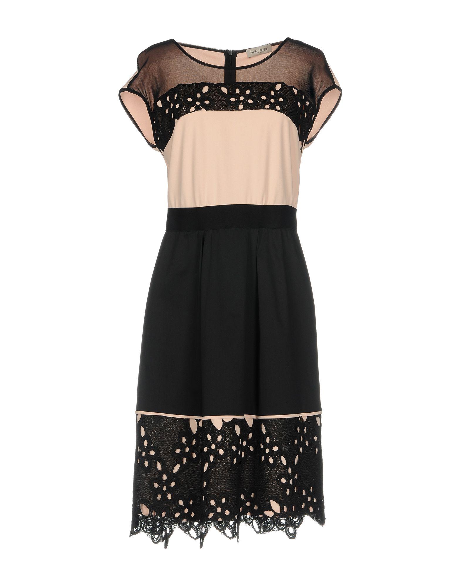 цены на LINEA CINQUE Платье до колена в интернет-магазинах