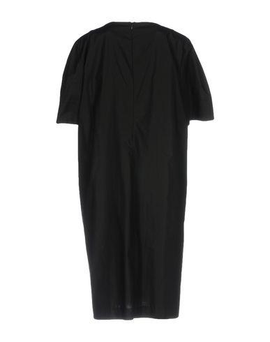 Фото 2 - Женское короткое платье NOUVELLE FEMME черного цвета