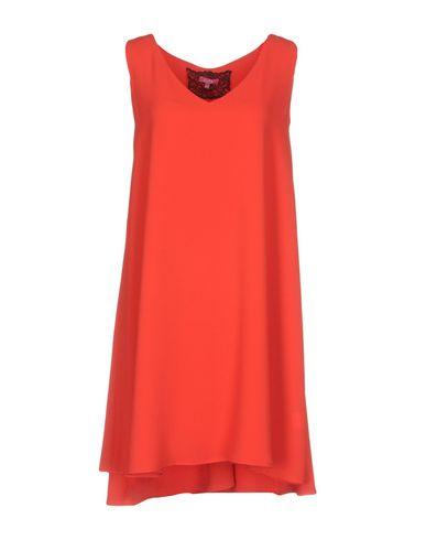 Фото - Женское короткое платье ÉCLÀ красного цвета