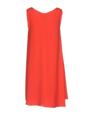 Фото 2 - Женское короткое платье ÉCLÀ красного цвета