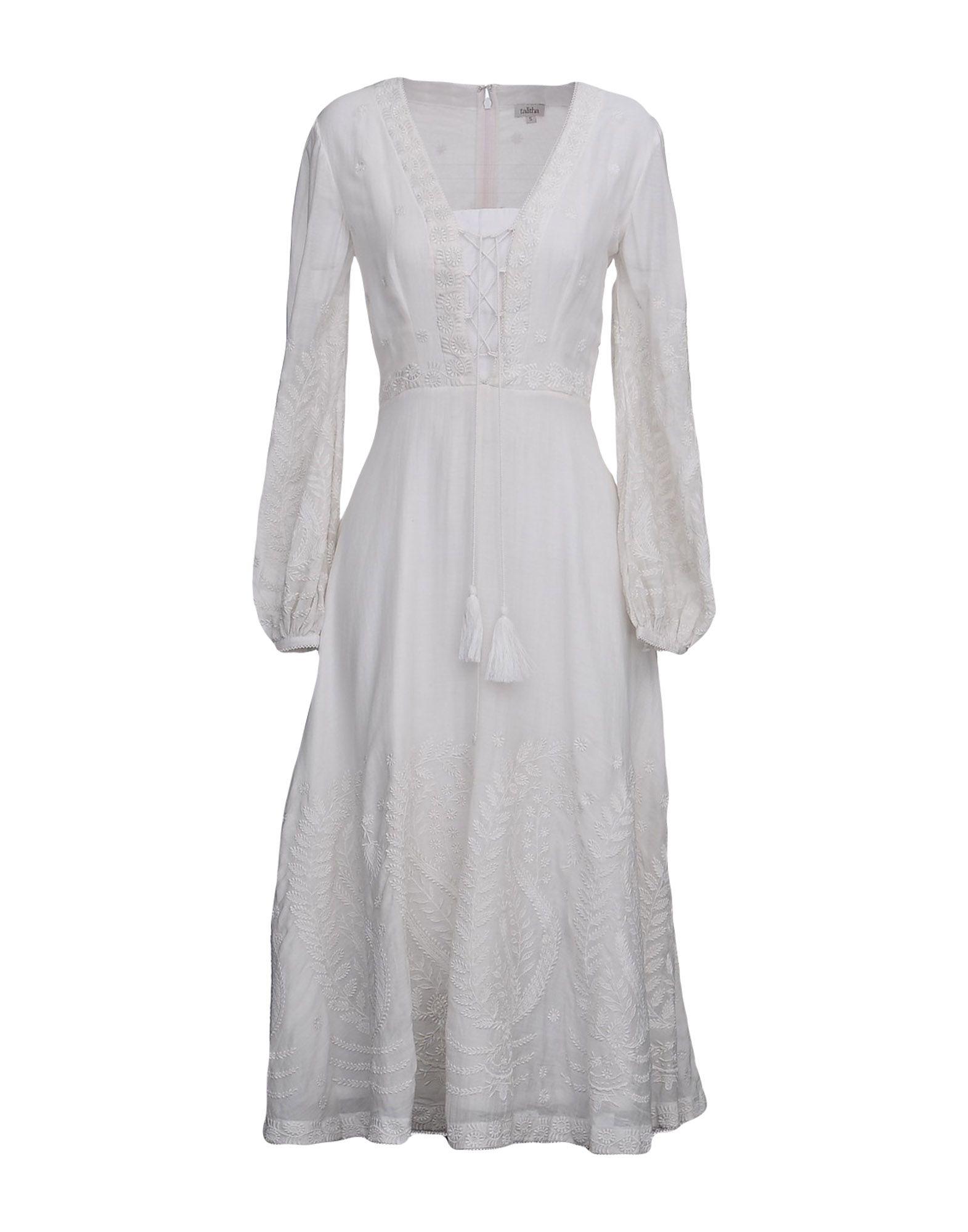 TALITHA Платье длиной 3/4 lisa corti платье длиной 3 4