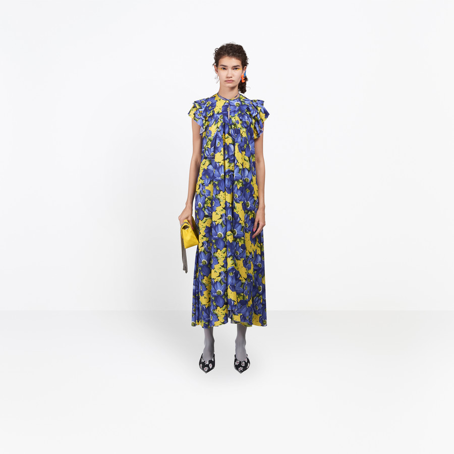 BALENCIAGA Flou Dress Dress Woman g