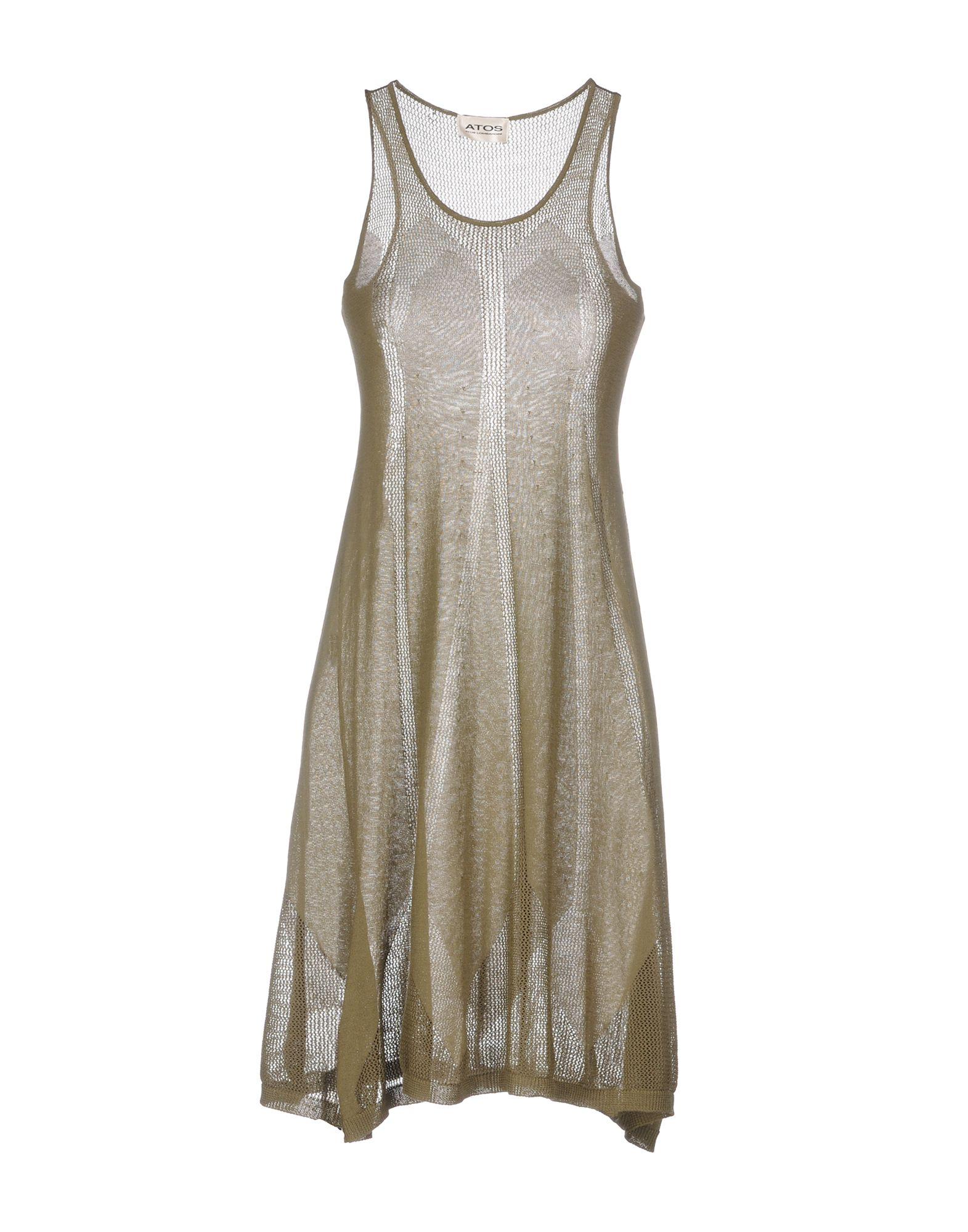 все цены на ATOS ATOS LOMBARDINI Платье до колена в интернете