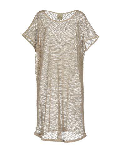 Фото - Женское короткое платье JIJIL бежевого цвета