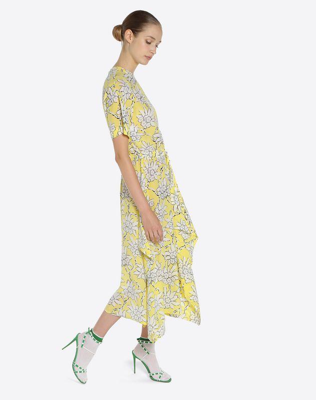 Vestido con estampado Rododendro