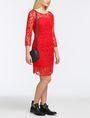 ARMANI EXCHANGE FLORAL LACE OVERLAY SHEATH DRESS Mini dress Woman a