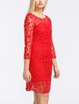 ARMANI EXCHANGE FLORAL LACE OVERLAY SHEATH DRESS Mini dress Woman d